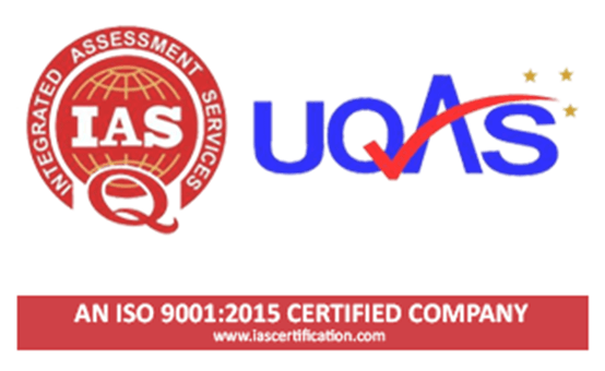 Certified QMS 9001:2015 Image